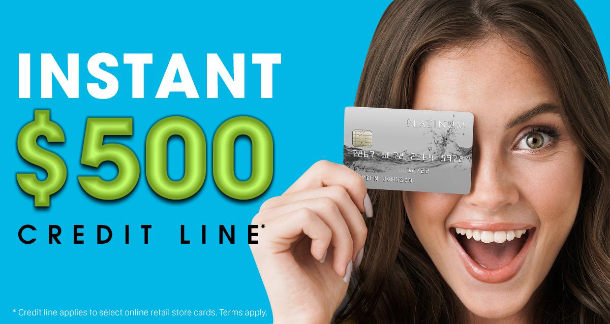 Instant $500 Credit line - ApplyNowCredit.com