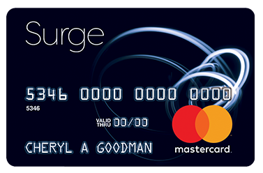 Surge Mastercard Credit Card - ApplyNowCredit.com