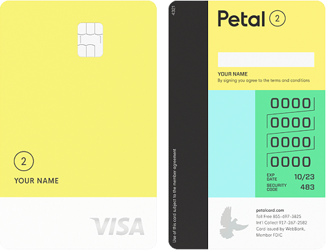 Petal Cash Back Visa® Card