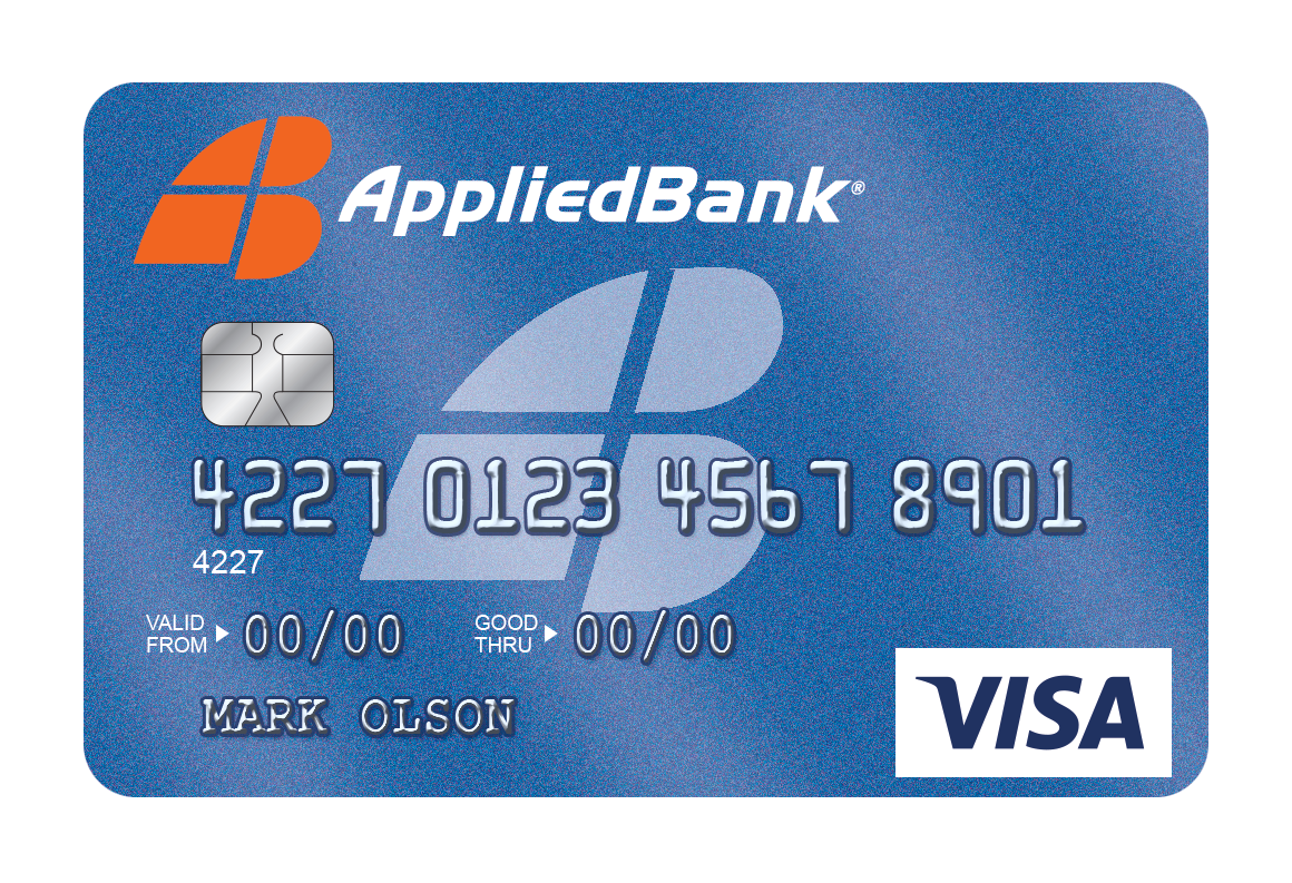 Applied Bank Unsecured Classic Visa Credit Card
